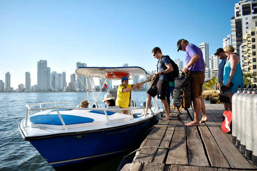Backpackers 6. Islas del Rosario - VIP Tour