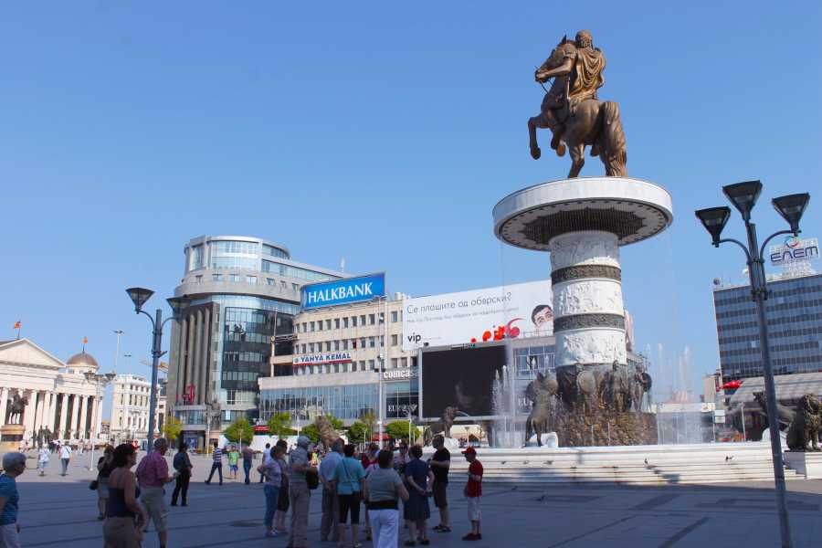 Skopje Daily Tours Full Day Food by Foot Skopje City Tour plus Matka Canyon