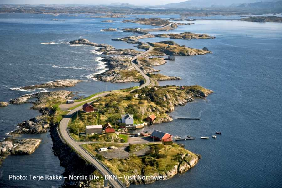 FRAM See the mystic marble caves & the Atlantic Road
