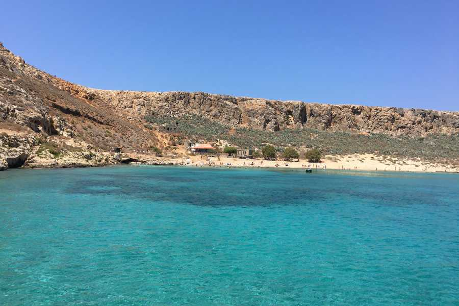 Grekaddict Private Speedboat Charter to Balos Lagoon and Gramvousa Island