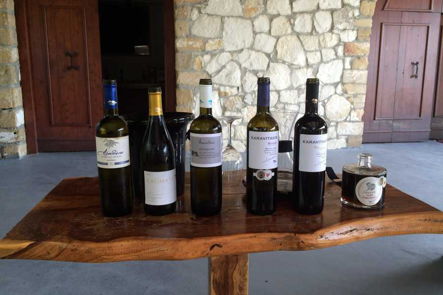 Grekaddict Secrets of Wine and Olives Tour from Chania
