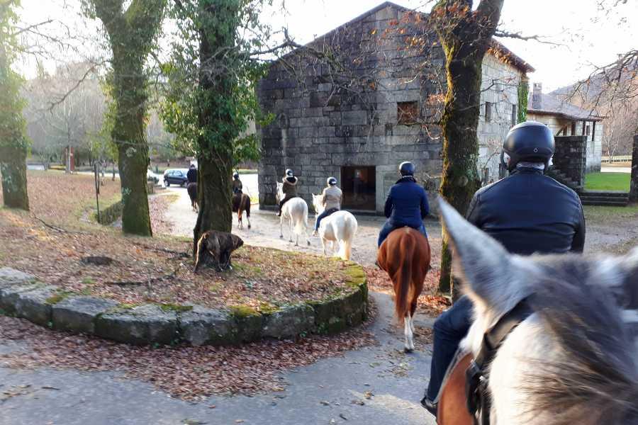 Gerês Equidesafios Baptism in Horse Riding