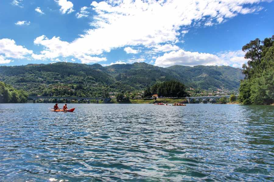 Gerês Equidesafios Canoeing Caniçada