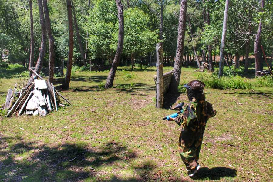 Gerês Equidesafios Paintball Kids