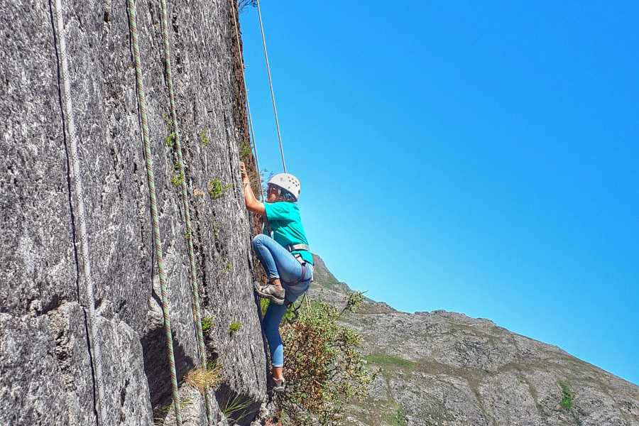 Gerês Equidesafios Climbing and Rappel