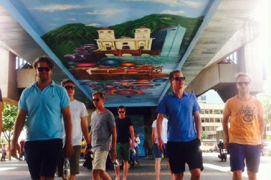 Medellin City Services Combo Tour: Street Art, Christmas Lights and Food Tour
