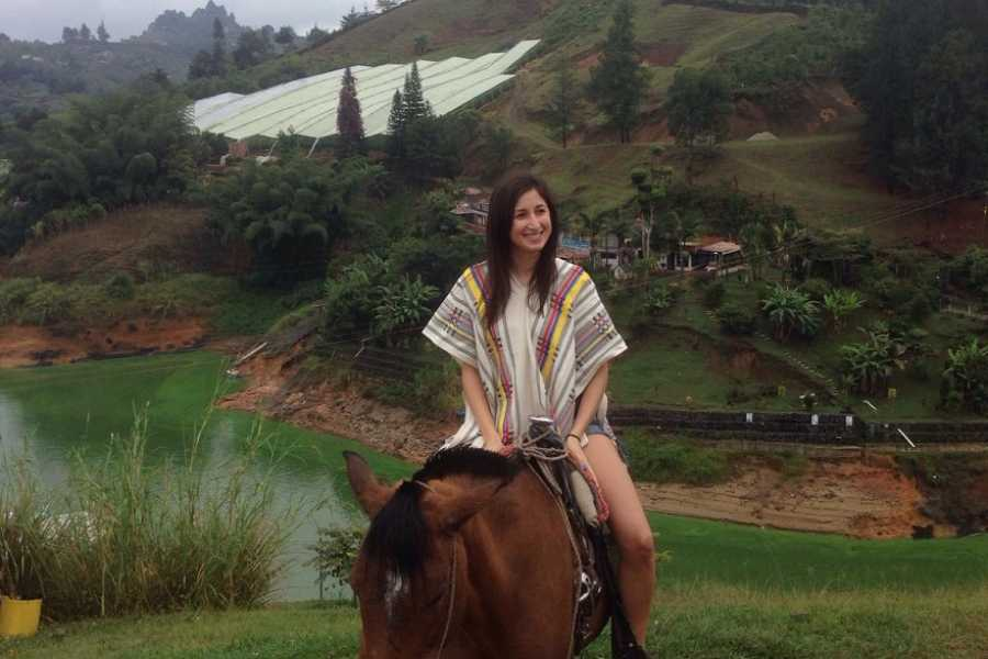Medellin City Services Full-Day Zip line, ATV, and Horseback Riding Adventure from Medellin