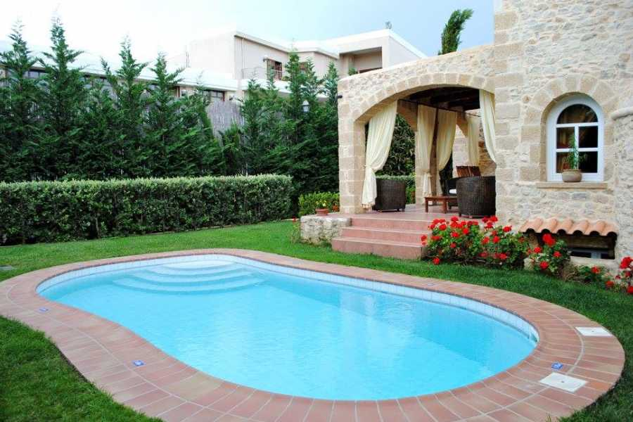 Destination Platanias Rock Houses Luxurious Traditional Cretan Villas