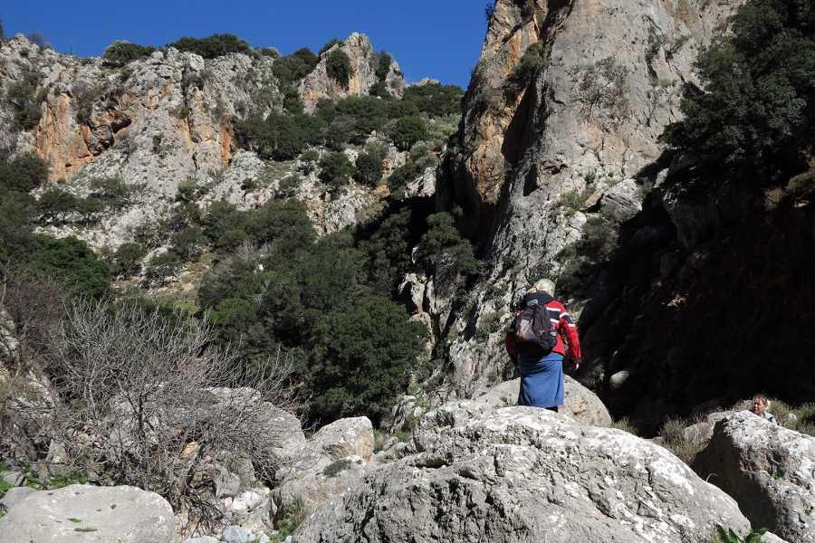 Grekaddict Adrianos Gorge Hiking Tour in Crete