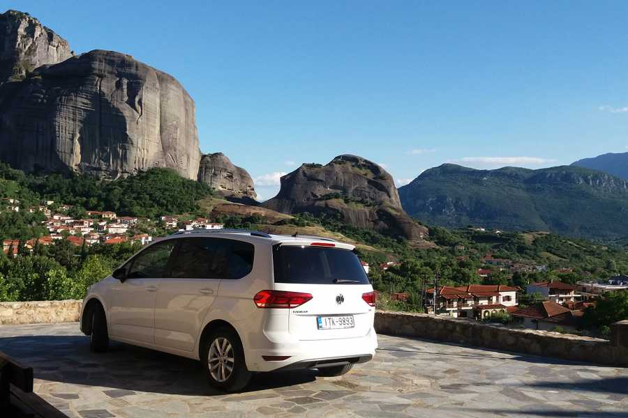 Visit Meteora Athens Train Station to Athens Airport Private Transfer
