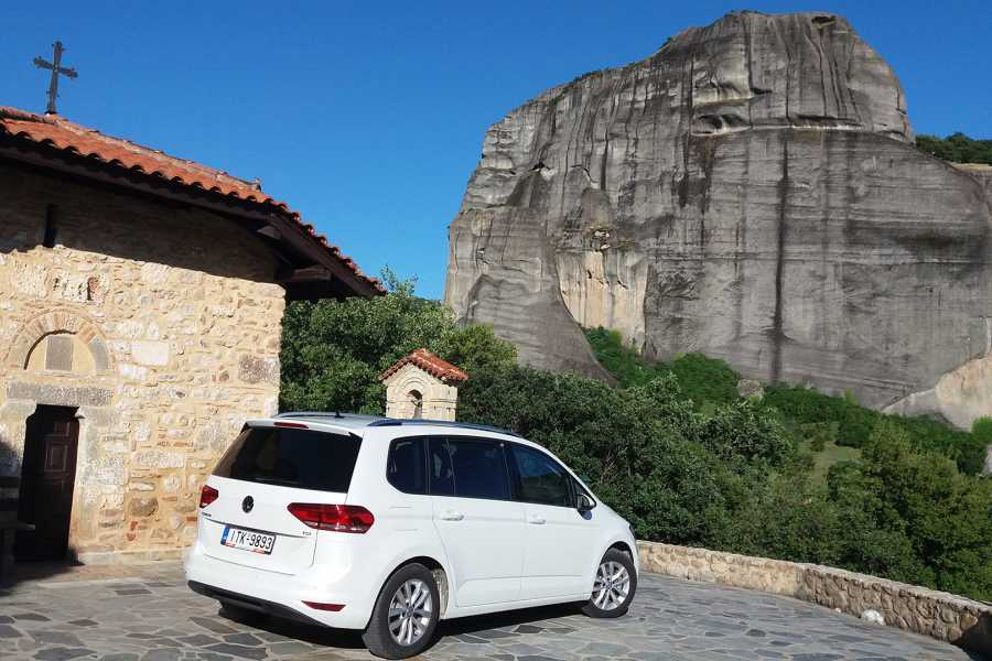 Visit Meteora Piraeus Port to Athens Airport Private Transfer