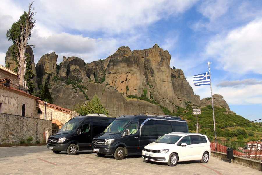 Visit Meteora Athens Train Station to Piraeus Port Private Transfer