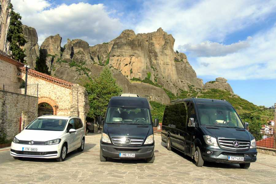Visit Meteora Athens Train Station to Athens Hotel Private Transfer