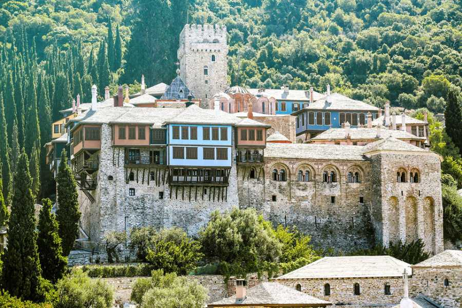 Ammon Express Thessaloniki: Day Trip to Ouranoupoli with Mt. Athos Cruise