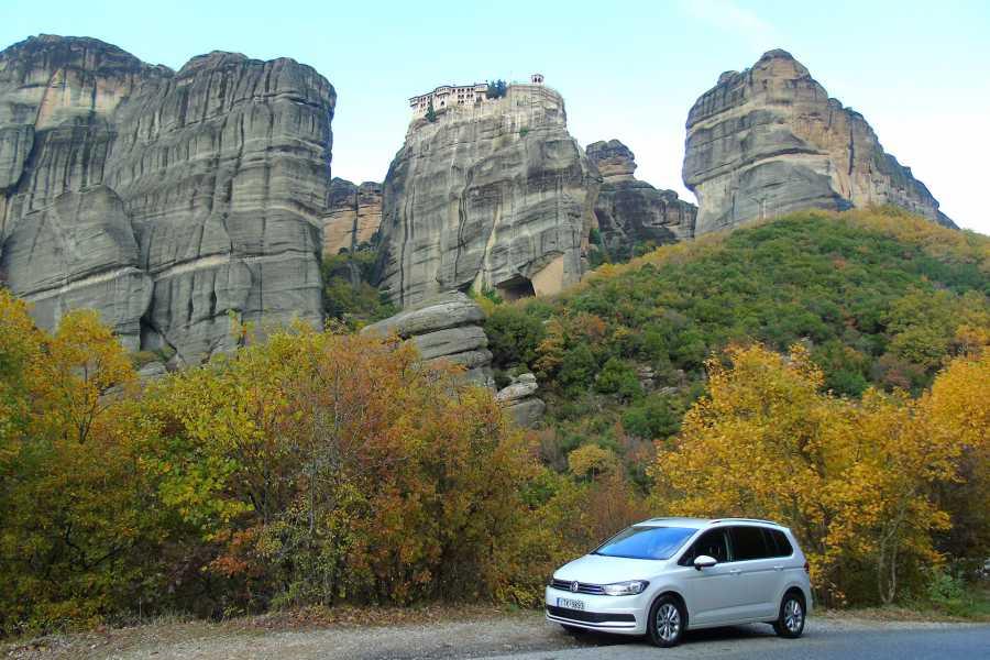 Visit Meteora Delphi to Athens Airport Private Transfer