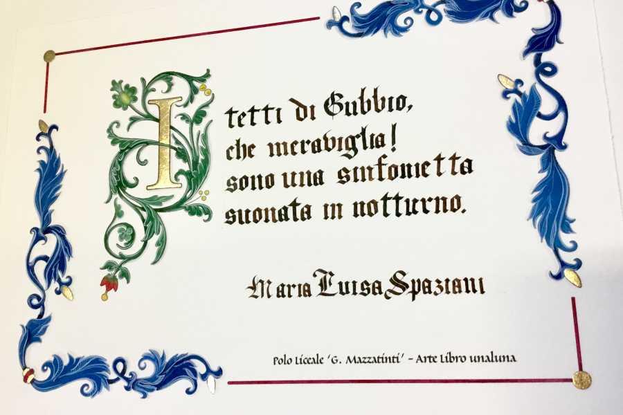 UmbriaMarche Scopri Gubbio con le parole dei grandi scrittori - Laboratorio