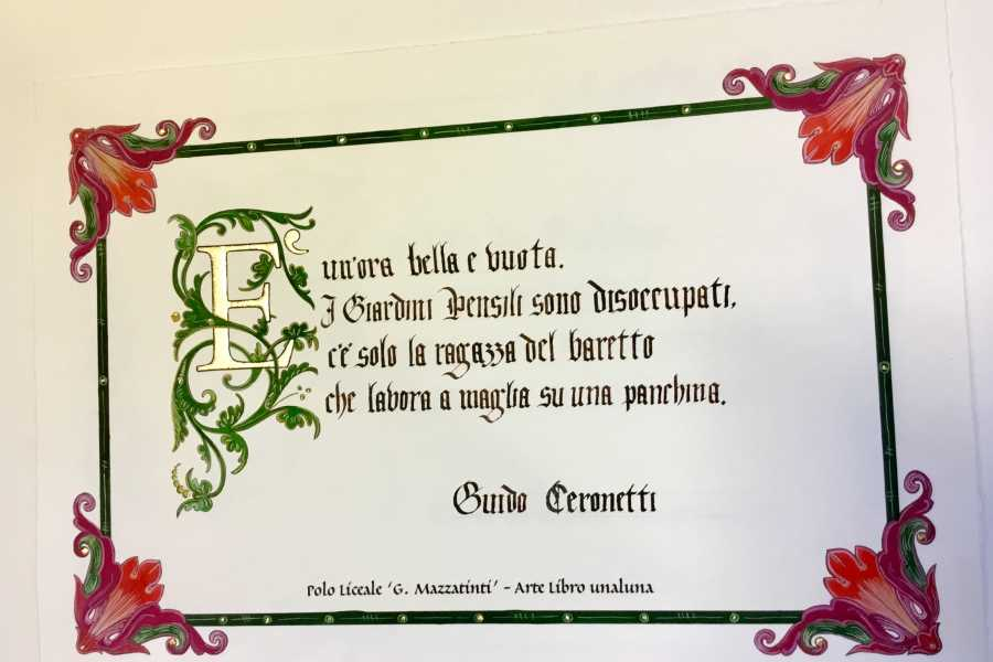 UmbriaMarche Discover Gubbio through the words of great writers - Laboratory