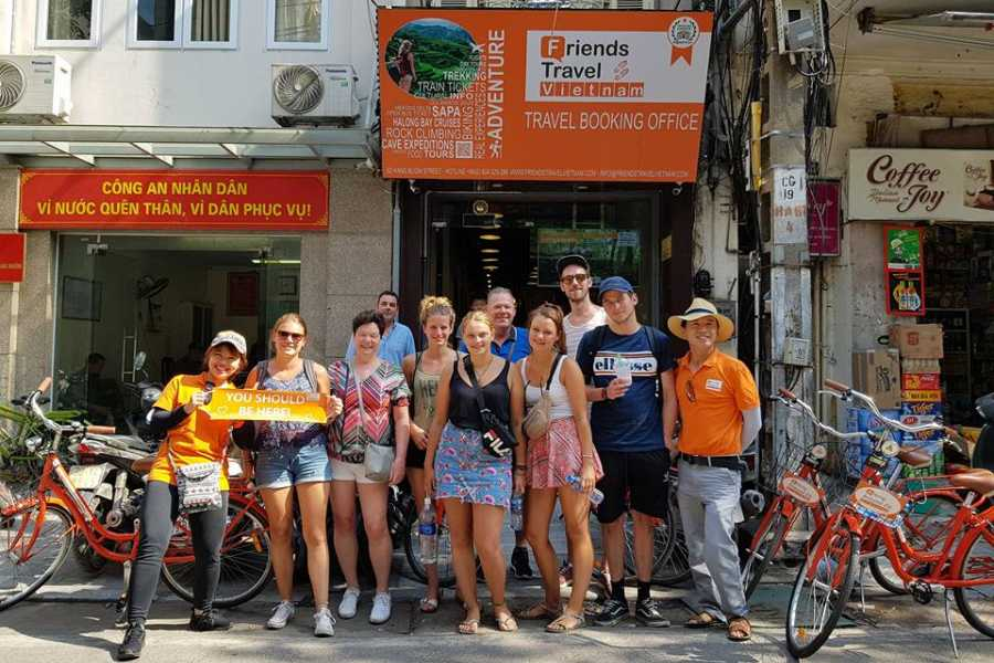 Friends Travel Vietnam Real Hanoi Bicycle Experience 3,5 hours (morning 08:30AM)