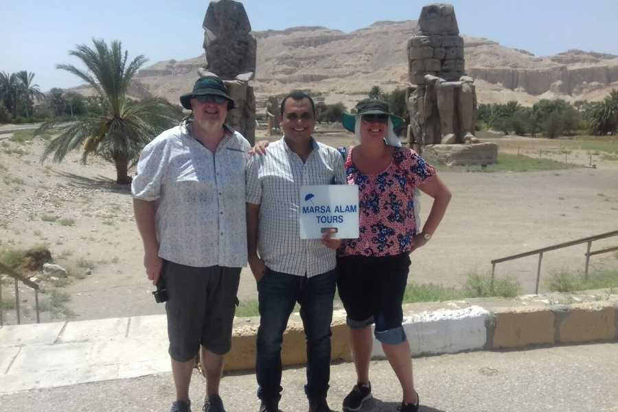 Marsa alam tours Luxor Private day tour from Soma Bay