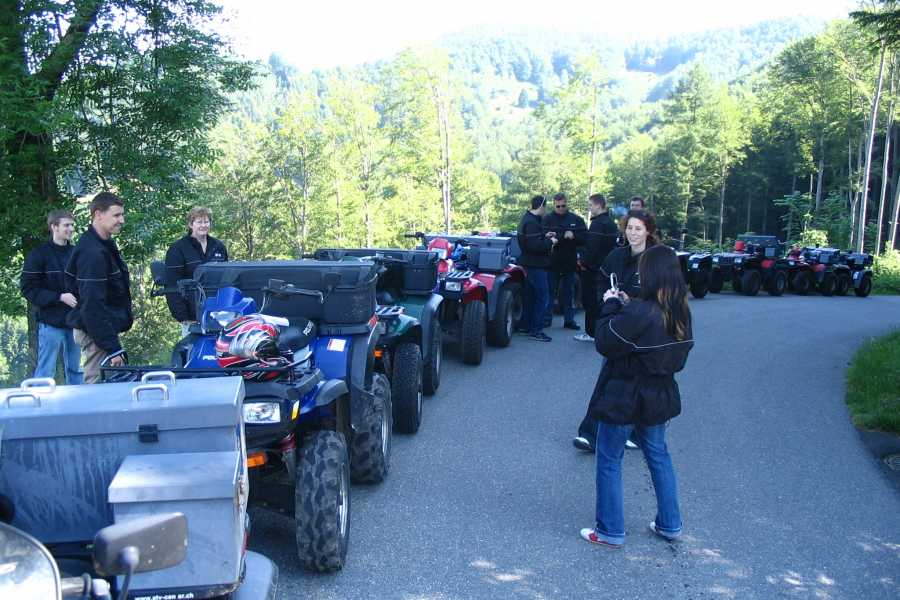 BuggyPark by HB-Adventure Switzerland Guided Tour with Quads and Buggies