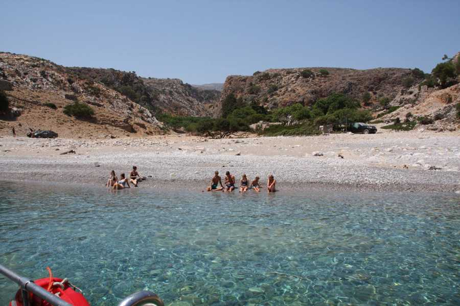 Destination Platanias Boat Trip To Magical Menies Beach 25 EUR