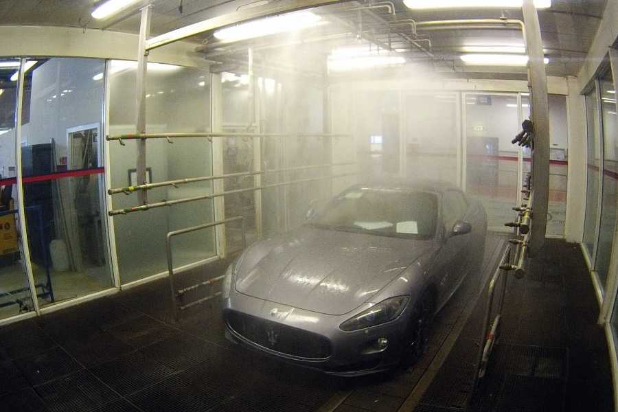 Modenatur MVF/ Maserati factory and showroom tour
