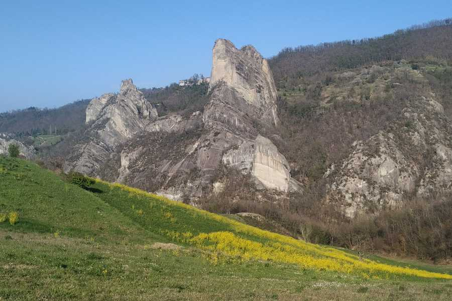 Modenatur Around the great stone cliffs