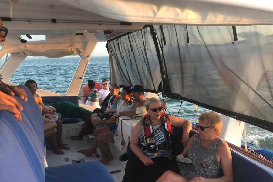 Cacique Cruiser BOAT TO COLOMBIA - Sangria Catamaran