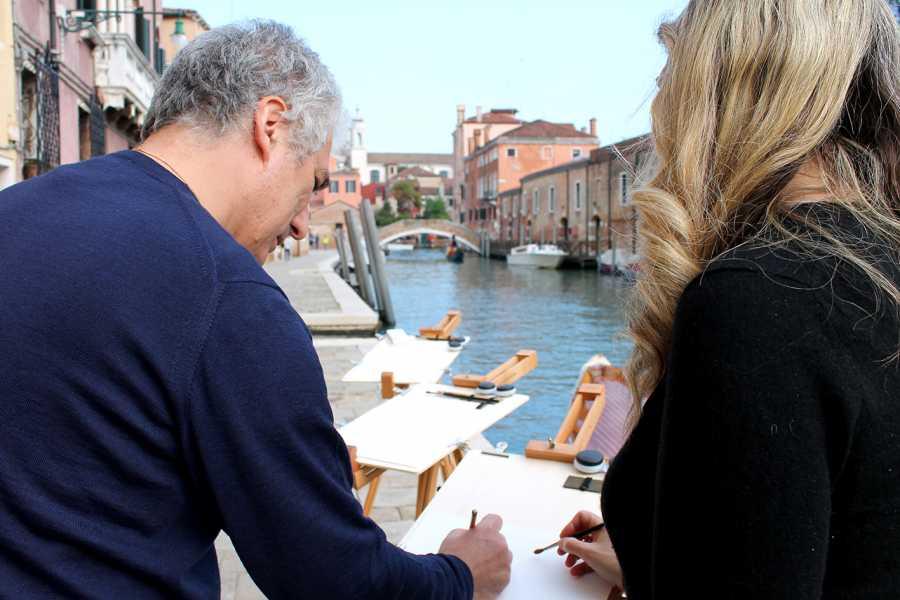 Venice Tours srl ACUARELAS EN VENECIA: CLASE DE PINTURA CON UN FAMOSO PINTOR