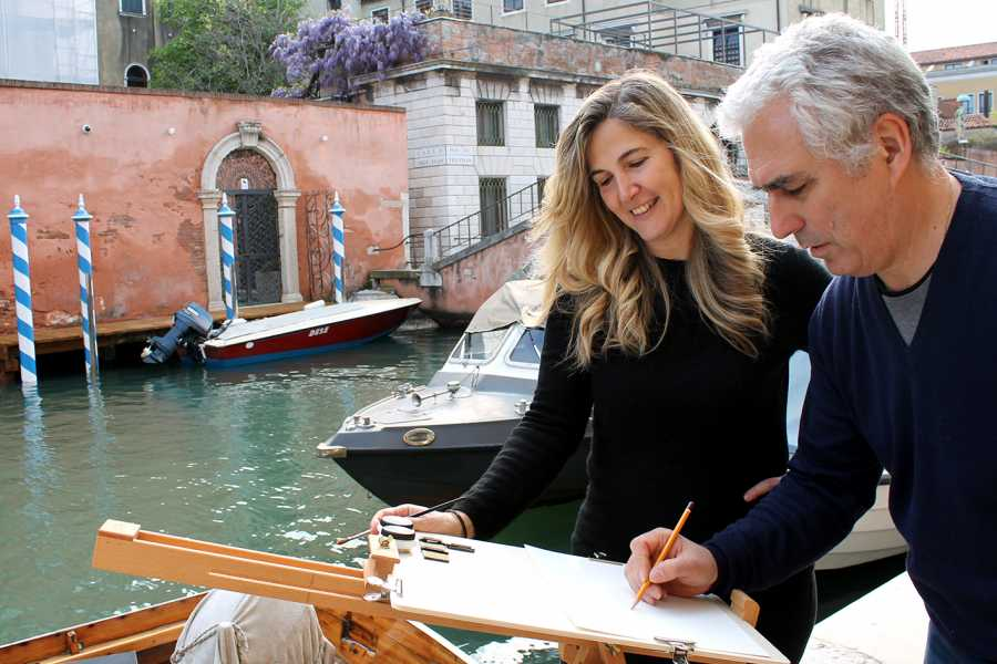 Venice Tours srl Watercolors in Venice: painting class with famous artist