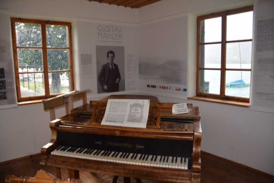 Kultur Tourismus Salzburg Salzkammergut Gustav Klimt, Gustav Mahler and Johannes Brahms refuge and inspiration
