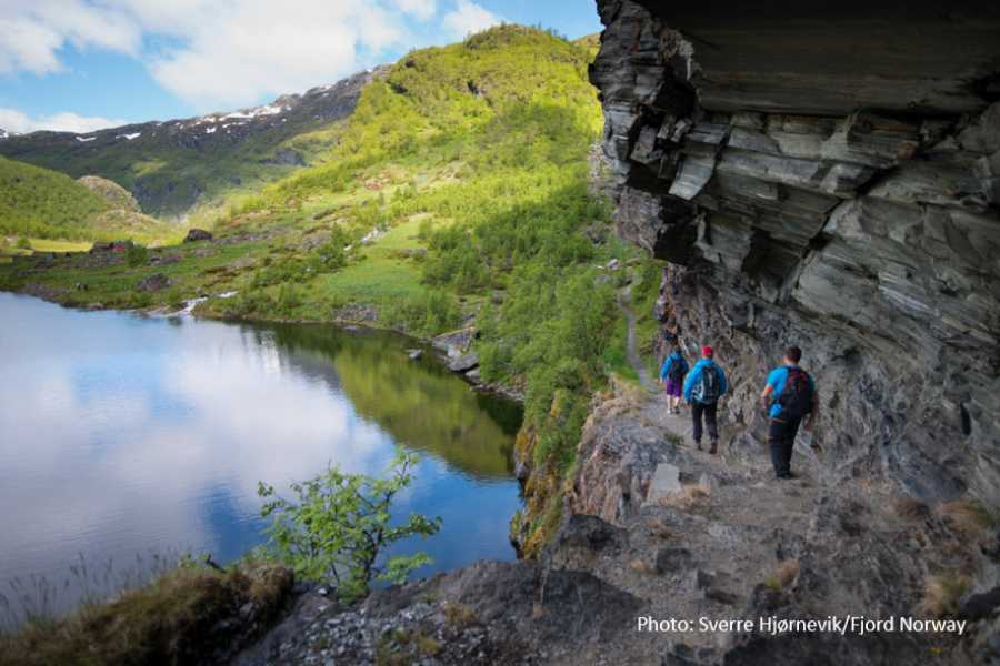 "Travel like the locals Sogn & Fjordane ""Hiking bus"" to Aurlandsdalen"