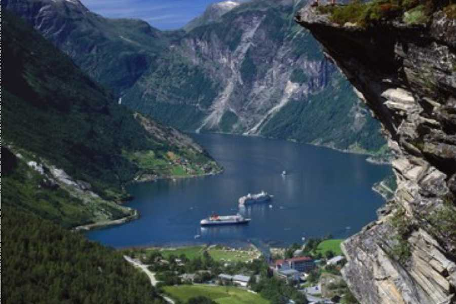 Travel like the locals Sogn & Fjordane Round trip Stryn - Hellesylt - Stryn