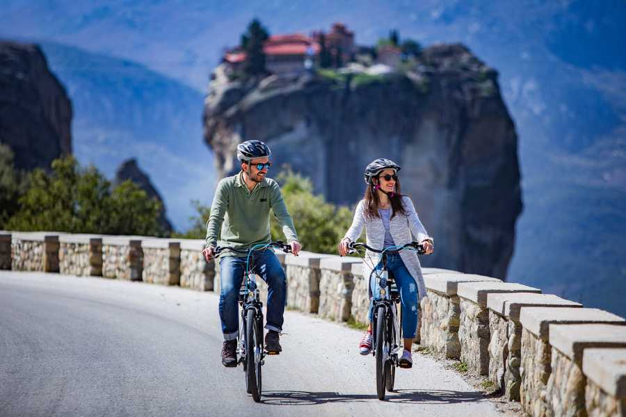 Grekaddict Sunset E-Bike Tour in Meteora