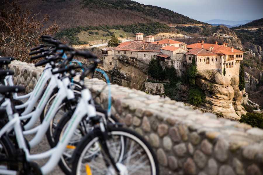 Grekaddict Sunset E-Bike Tour in Meteora