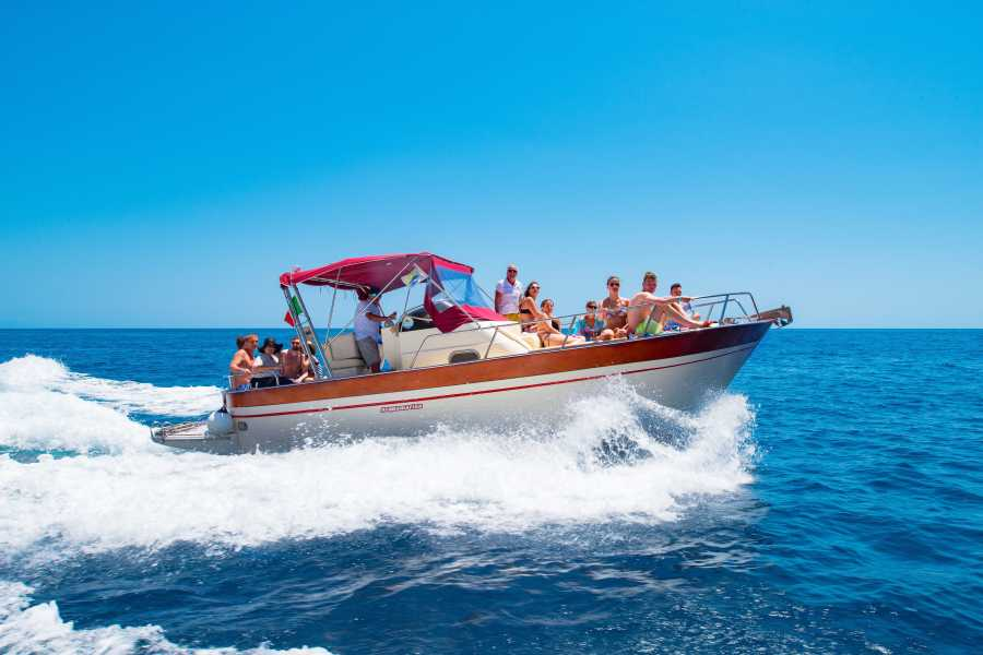 Feeling Italy Concierge Positano & Li Galli islands Private Boat Trip (12 persons max.)