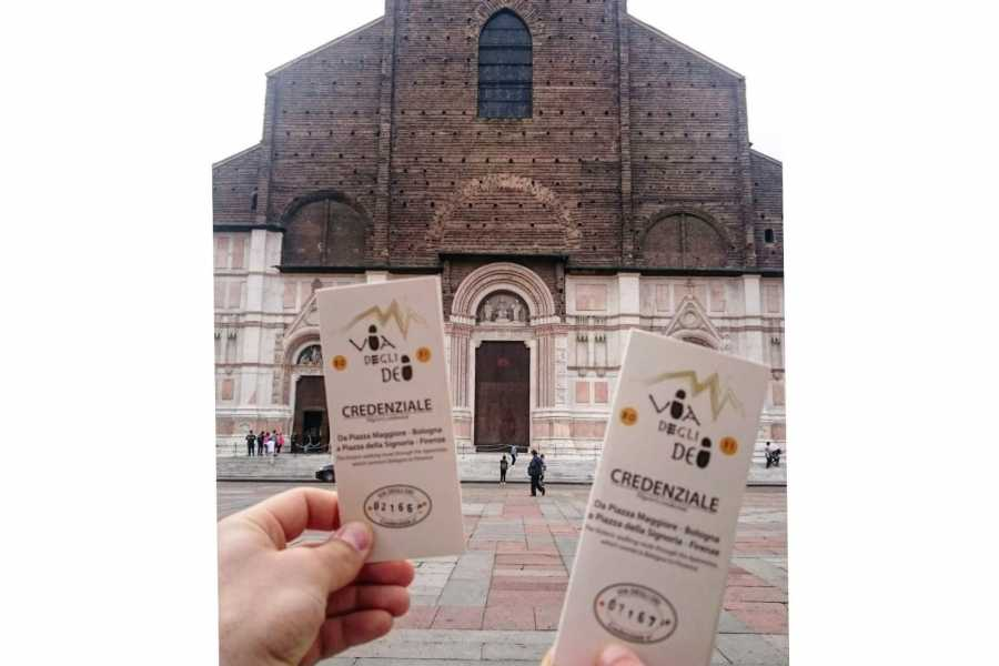 Emilia Romagna Welcome Path of Gods: Credential