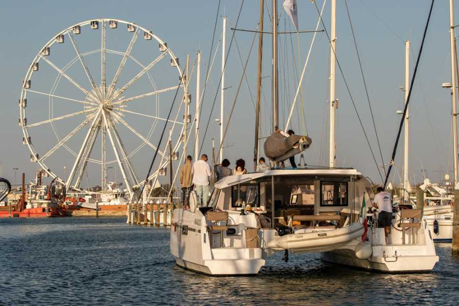 Promozione Alberghiera Aperitif on a sailing boat