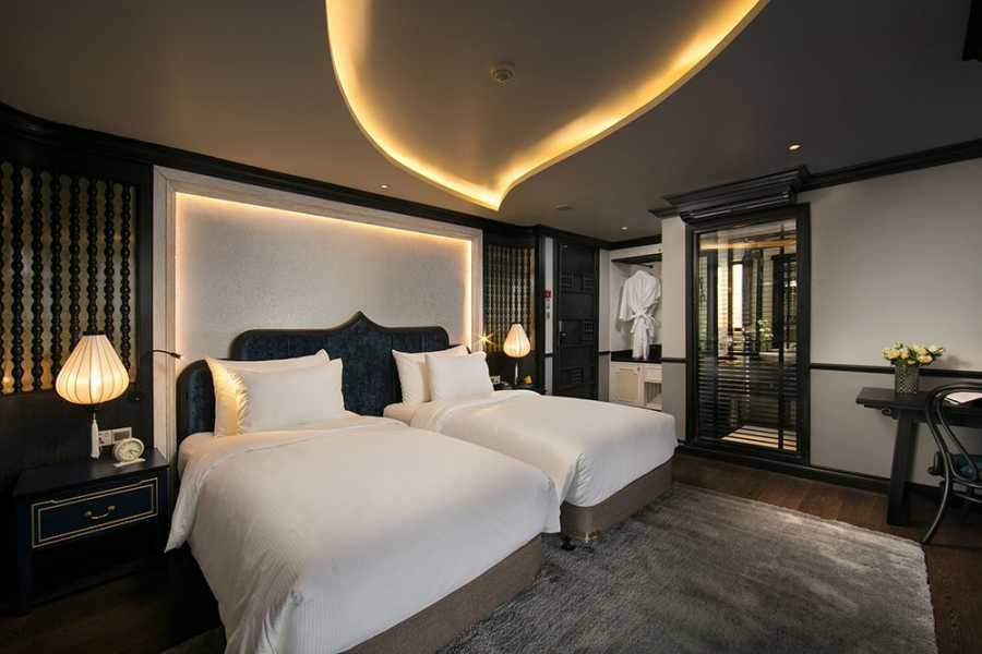 Friends Travel Vietnam O'Gallery Lotus cruise| | 2D1N Ha Long Bay