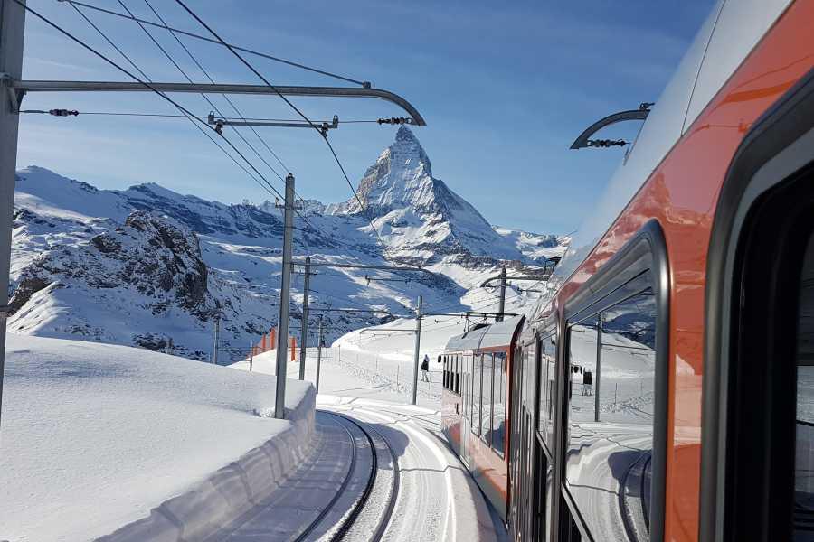 SwissTravelGuide Zermatt, Matterhorn area & Gornergrat (GT)