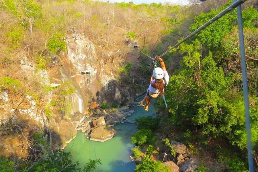 Tour Guanacaste Río Perdido Canopy & Hot Springs