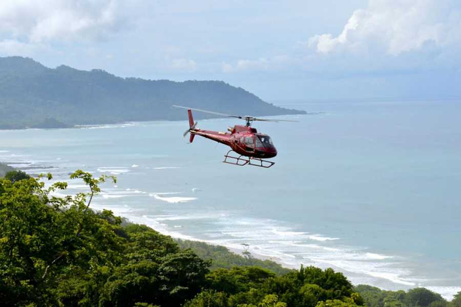 Tour Guanacaste Helicopter Island, Beach or Volcano