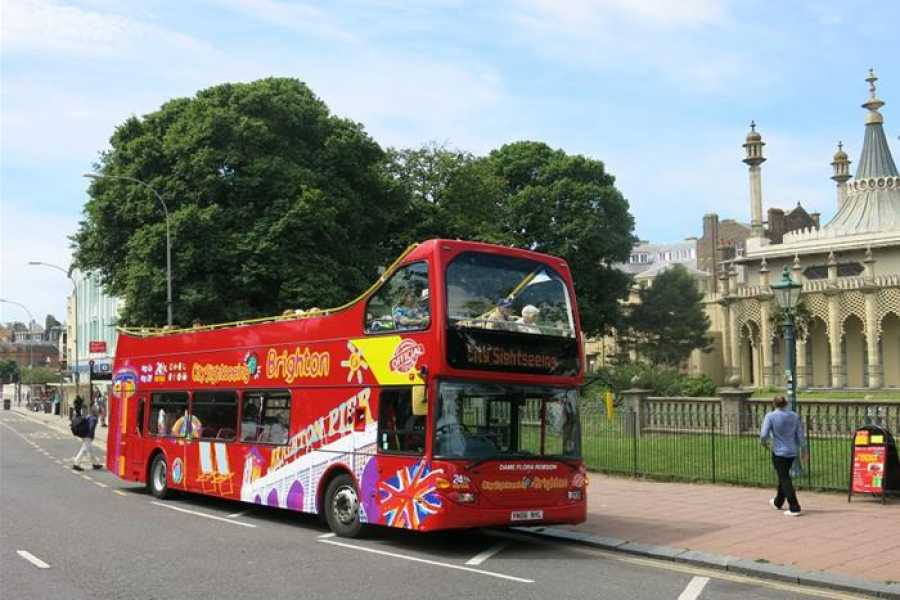 Halal Tourism Britain Brighton with Sightseeing Bus Tour