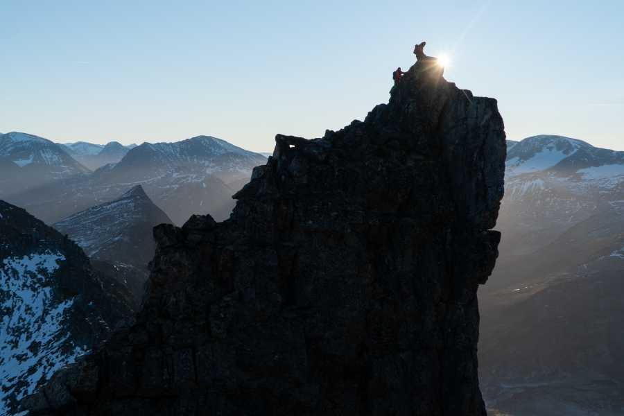 Hotel Aak Alpine hike in Romsdalen
