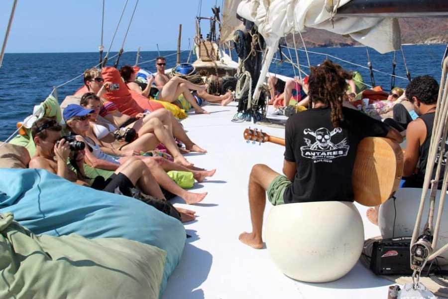 Tour Guanacaste Antares Schooner Sailing Ship