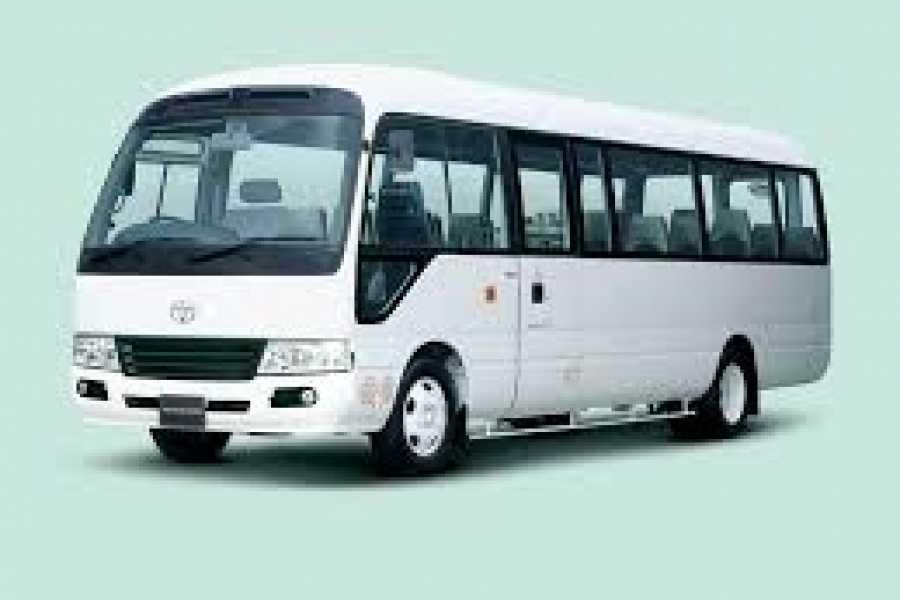 Tour Guanacaste Toyota Coaster Bus