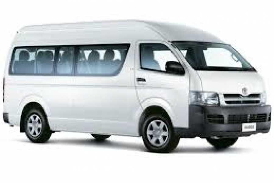 Tour Guanacaste Toyota Hiace 12 Seat