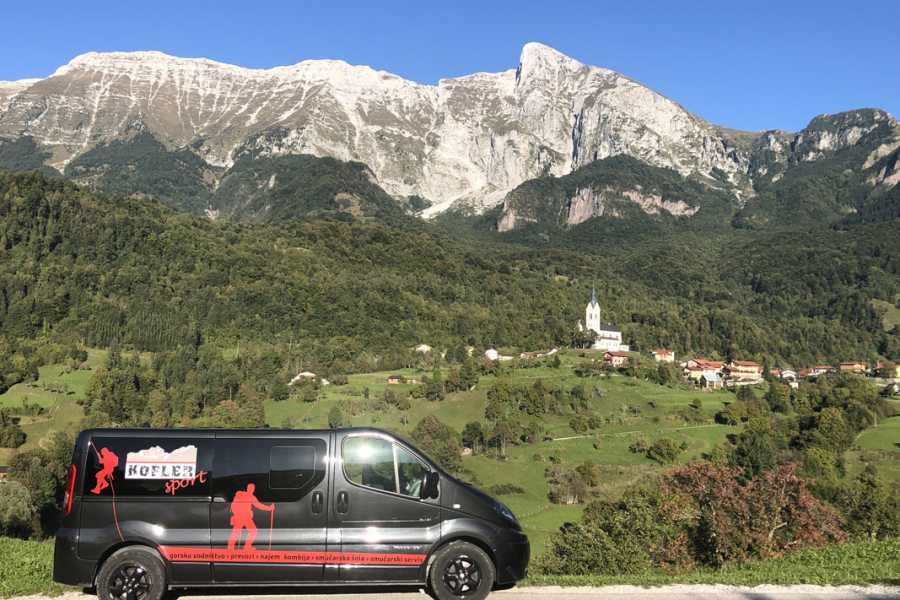 Turistično društvo in Center gorskega vodništva Transfers around Julian Alps