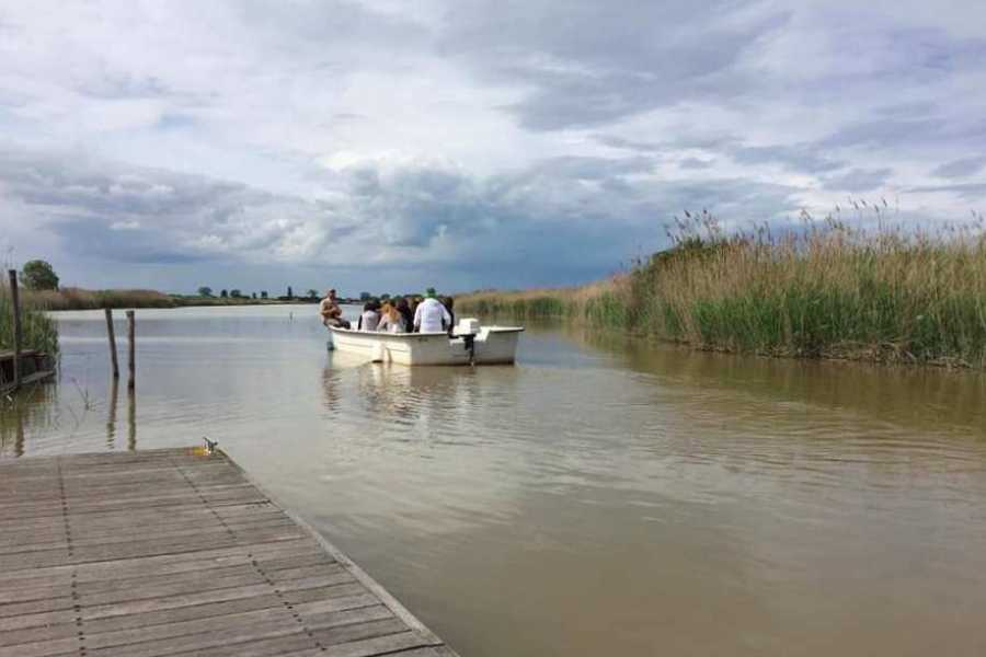 Ravenna Incoming Convention & Visitors Bureau In barca nel cuore del Delta sul torrente Bevano