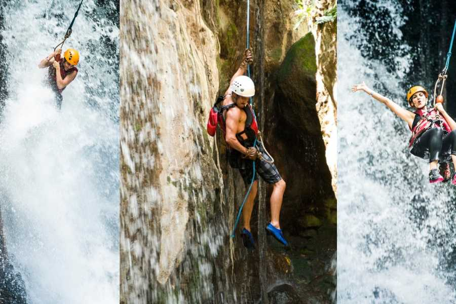 Tour Guanacaste Canyoning and Rappelling Waterfalls Tour